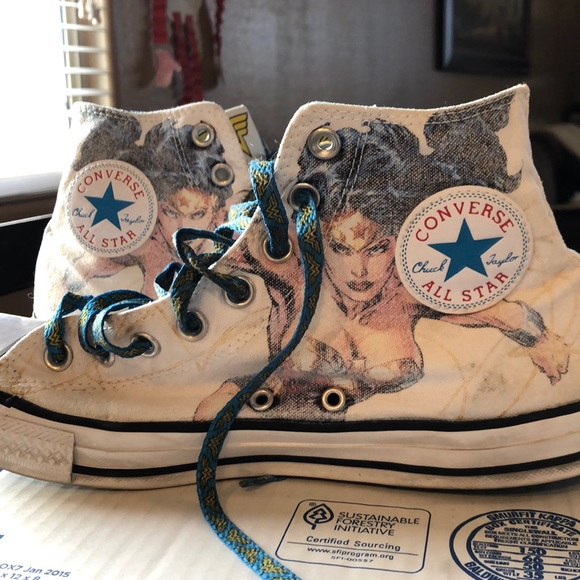 Limited Edition Wonder Woman Converse